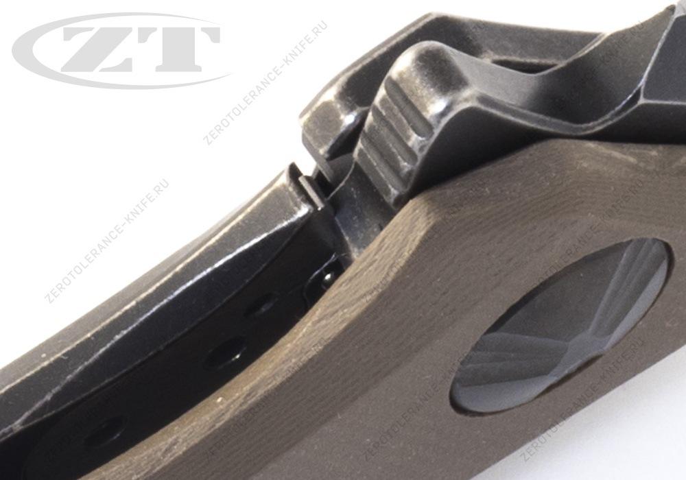 Нож Zero Tolerance 0462TAN Sinkevich - фотография