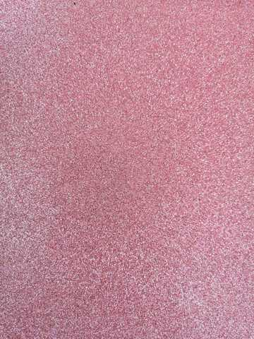 Глитерный фоамиран 2мм 40*60см. цвет светло-розовый