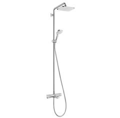 Душевая система с термостатом и изливом на ванну Hansgrohe Showerpipe Croma 27687000 фото
