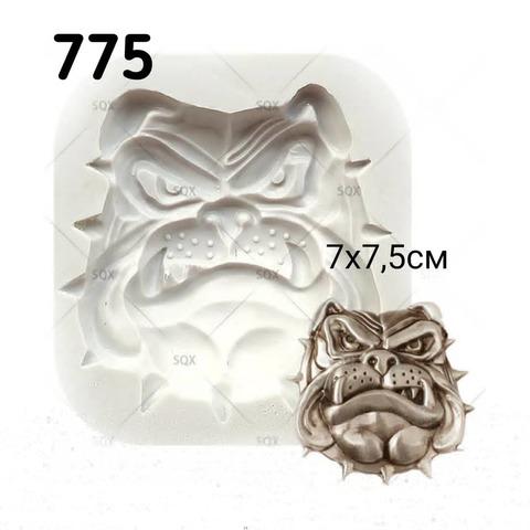0775 Молд силиконовый. Голова собаки.