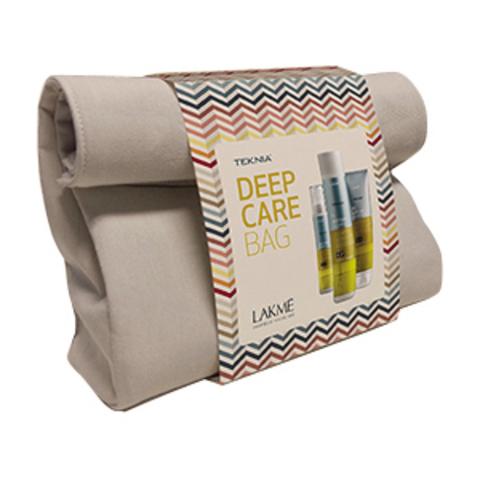 Набор восстанавливающий Lakme Deep Care Bag