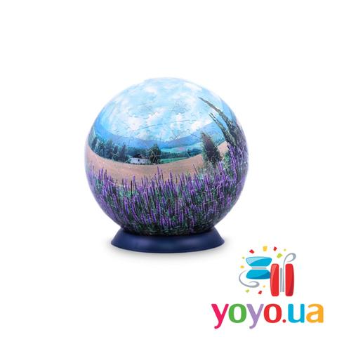 Шаровый 3D Пазл Pintoo - Лаванда 240 деталей 15 см