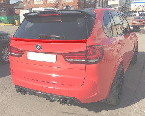 Карбоновый спойлер крышки багажника для BMW X5 F15