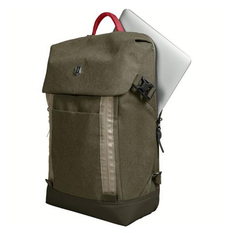 Рюкзак Victorinox Altmont Classic Deluxe Flapover 15'', зелёный, 29x12x43 см, 18 л