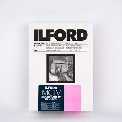 Фотобумага Ilford Multigrade IV RC, глянцевая, 10x15см, 100 л.