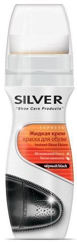 Крем-краска д/обуви Silver 75мл черный
