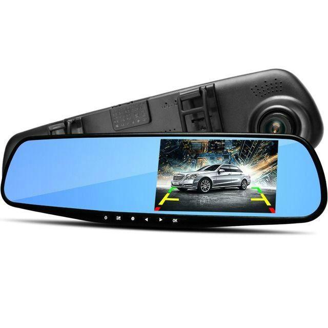 Для автомобилистов Автомобильный видеорегистратор-зеркало Vehicle Blackbox DVR Full HD videoregistrator.jpg