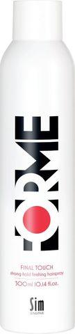 FORME Final Touch Strong Hold Hair Spray лак сильной фиксации для укладки волос 300мл купить за 1190руб