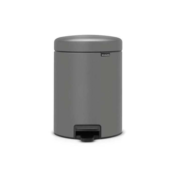 Мусорный бак newIcon (5 л), Минерально-серый, арт. 126284 - фото 1