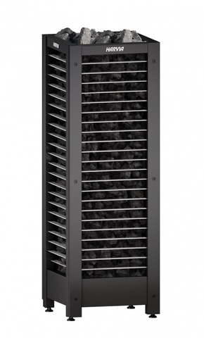 Печь электрическая Harvia Modulo MDA1654GL Black, чёрная, без пульта