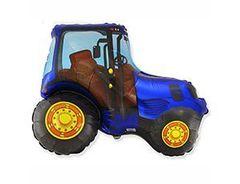 F Фигура Трактор синий, 75смх92см, 1шт.