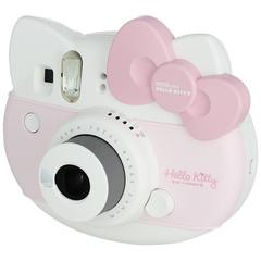 Fotoaparat \ Фотоаппарат моментальной печати Fujifilm, цвет белый/розовый