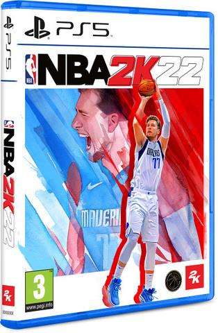 NBA 2K22 (PS5, английская версия)