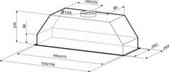 Схема Kronasteel Mini slider 700 white