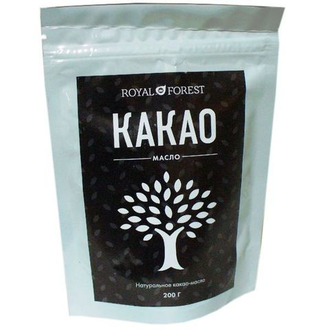 Масло Какао натуральное, 200 гр. (ТрансКэроб)