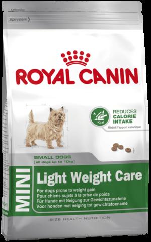 Для собак, предрасположенных к избыточному весу