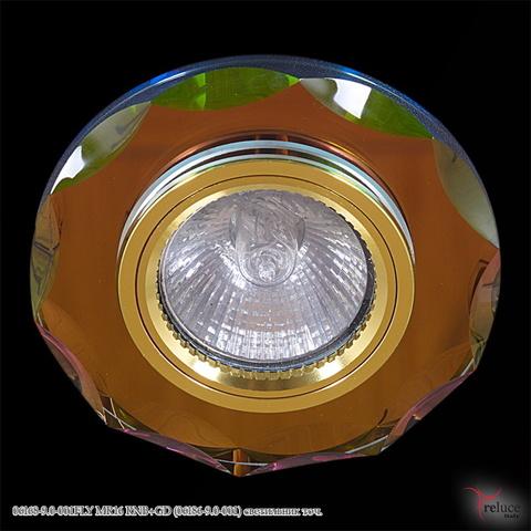 06168-9.0-001FLY MR16 RNB+GD (06186-9.0-001) светильник точ.