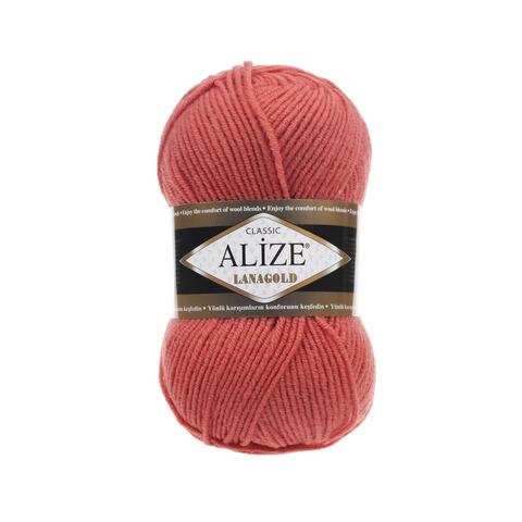 Пряжа Alize Lanagold 154 коралловый