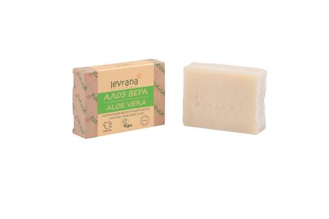 Levrana, Натуральное мыло ручной работы Алоэ, 100гр
