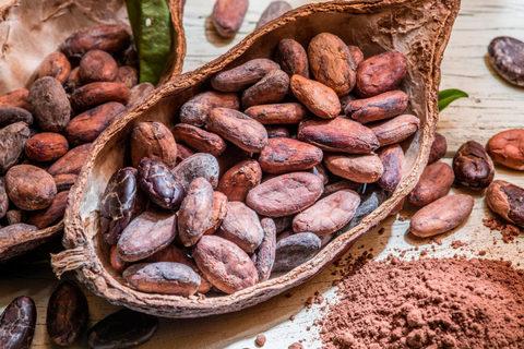 Какао бобы натуральные сырые, 100 гр