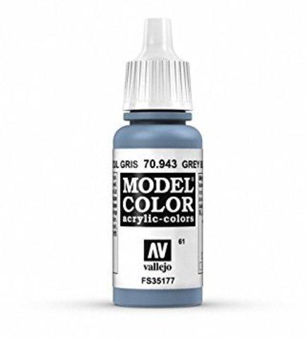 Model Color Grey Blue 17 ml.