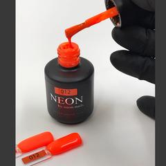 NEON, гель-лак ORANGE № 012 , (12 ml) неоновый оранжевый