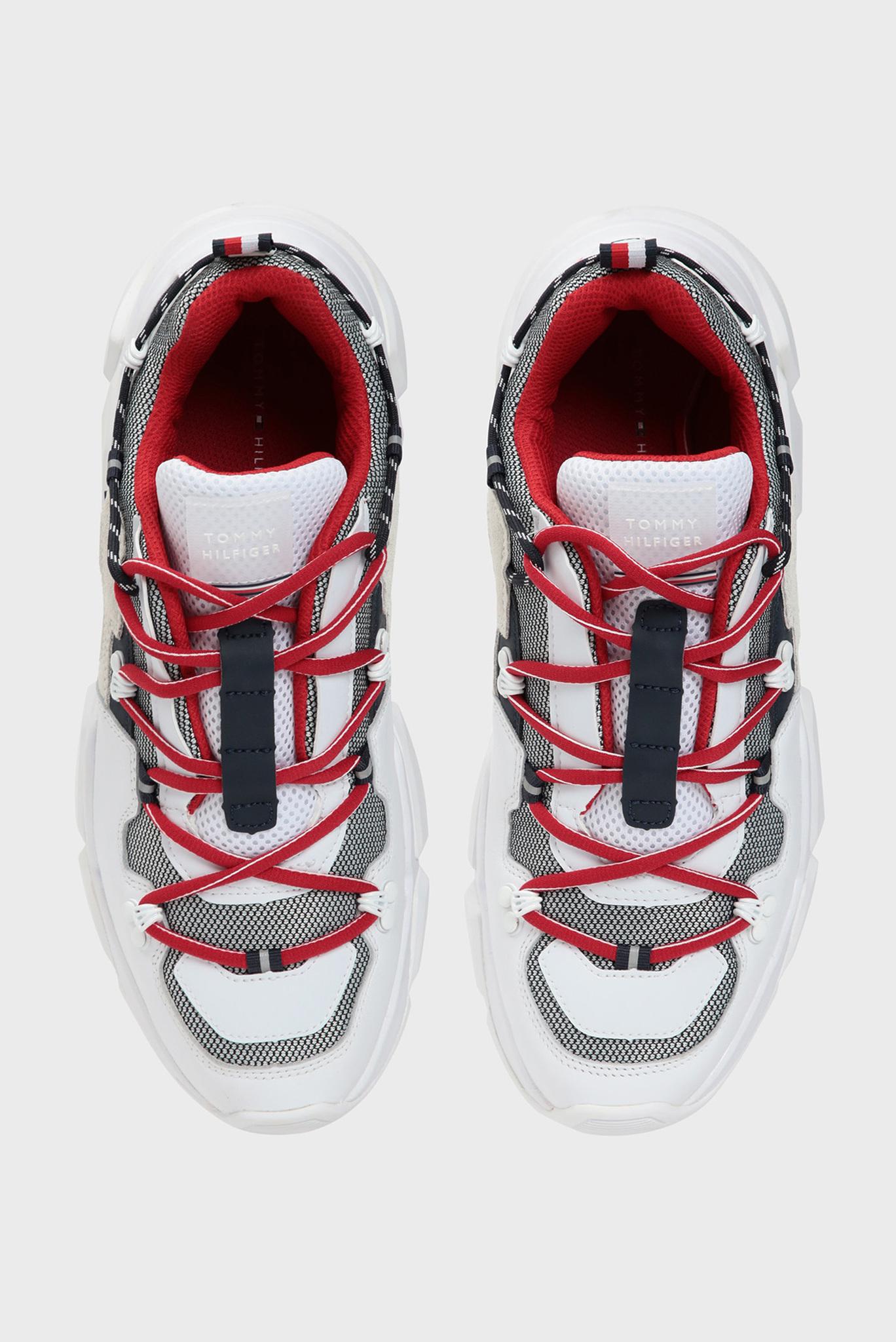 Мужские белые кожаные кроссовки CITY VOYAGER CHUNKY Tommy Hilfiger