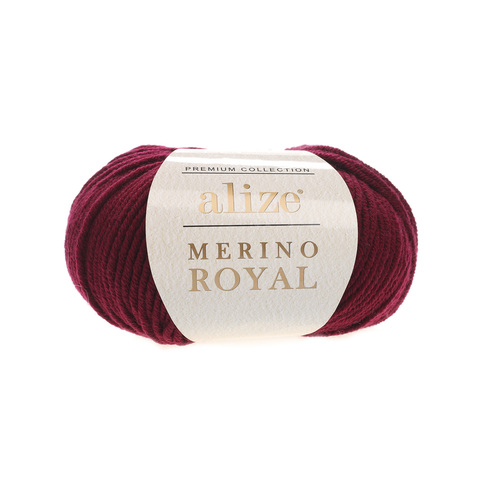 Alize Merino Royal бордо 323