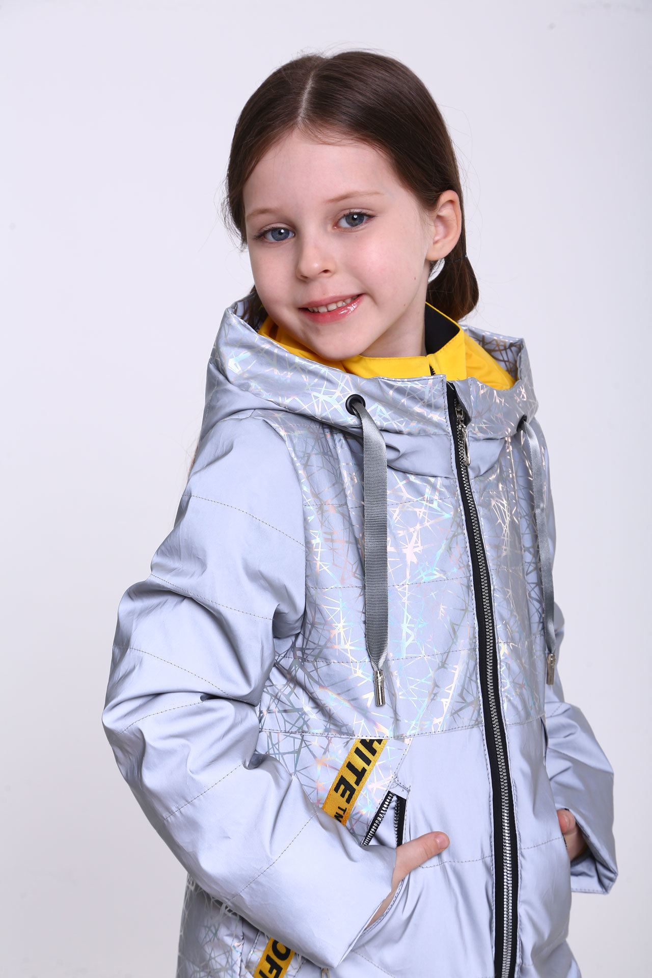 Куртка для девочки F-6 Minika