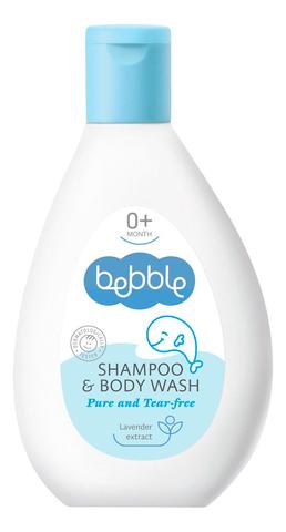 Шампунь для волос и тела детский Shampoo & Body Wash Bebble 200 мл.