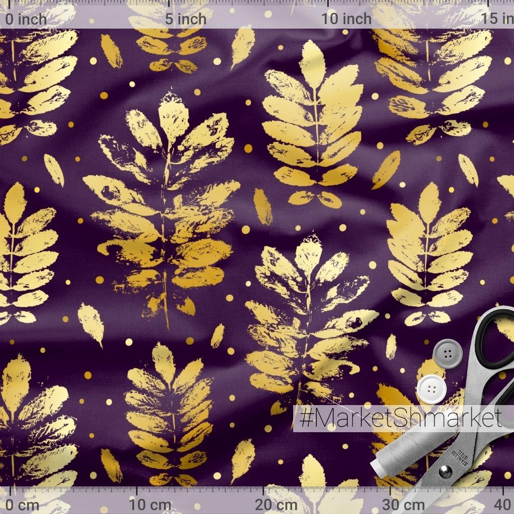 Золотые листья рябины