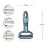 8738 FISSMAN Нож для чистки овощей с 3 различными лезвиями из нерж. стали,
