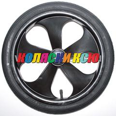 Колесо для детской коляски №003067 надув 14 дюймов (44-288) 14х1 3/8х1 5/8 с тормозной шестеренкой. BEBE-MOBILE INES / ADAMEX SOFIA