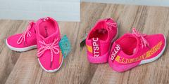Обувь дет. № 6 Детские Кроссовки 580SPLV Розовые