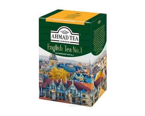 Чай черный листовой Ahmad Tea English N1, 200 г