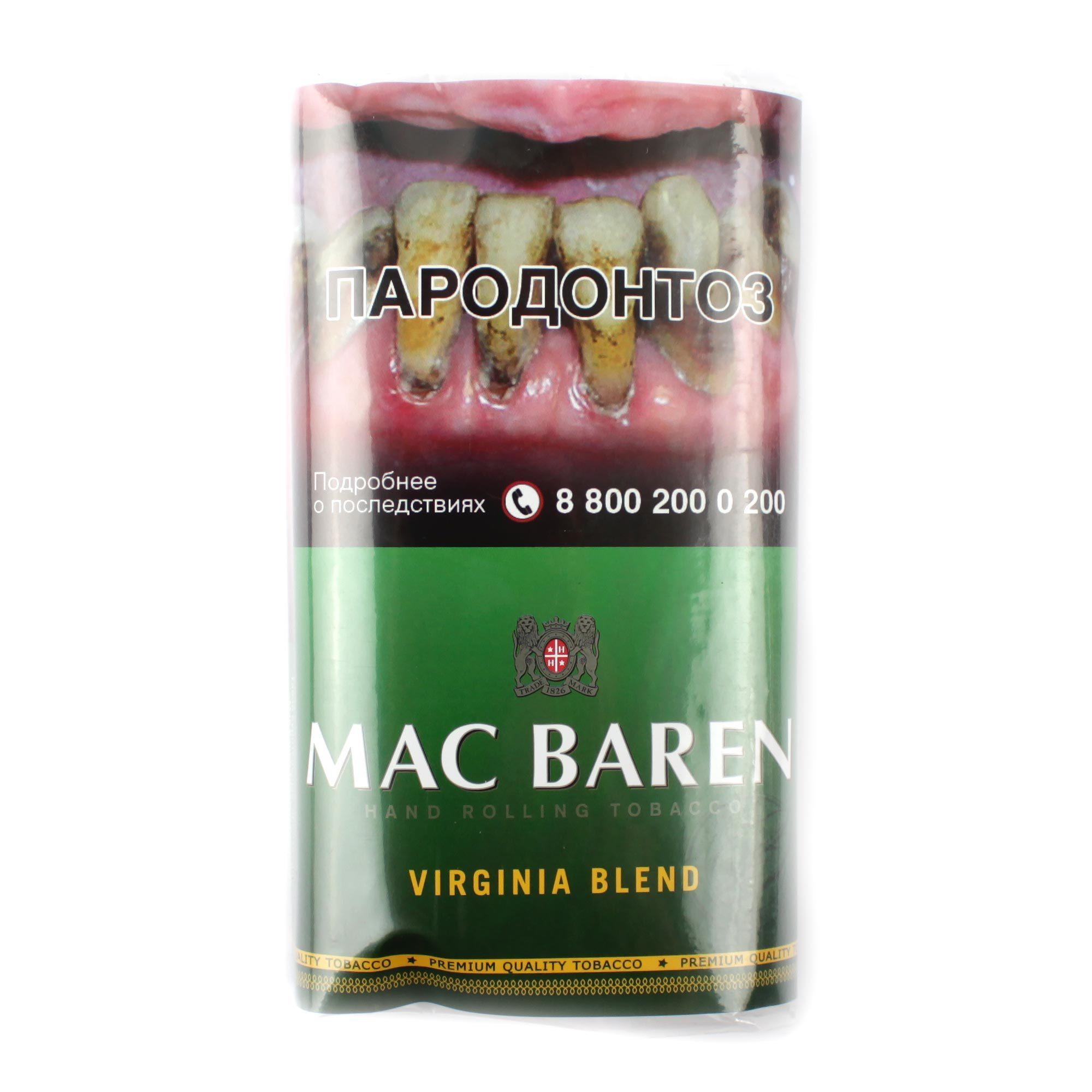 Табак сигаретный Mac Baren VIRGINIA BLEND 40 гр