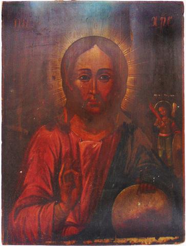 Вседержитель с пр. св. Михаилом