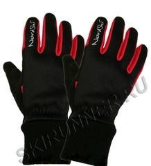 Перчатки Nordski Warm Black-Red WS 18