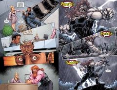 DC. Rebirth. Титаны. Сделано на Манхэттене #8-9: Быть или не быть; Сломанное жало/Красный Колпак и Изгои. Темная троица #4: Одна команда.