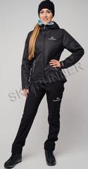 Утеплённый лыжный костюм Костюм Nordski Urban Black женский