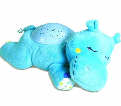 Ночник-проектор звездного неба Hippo голубой