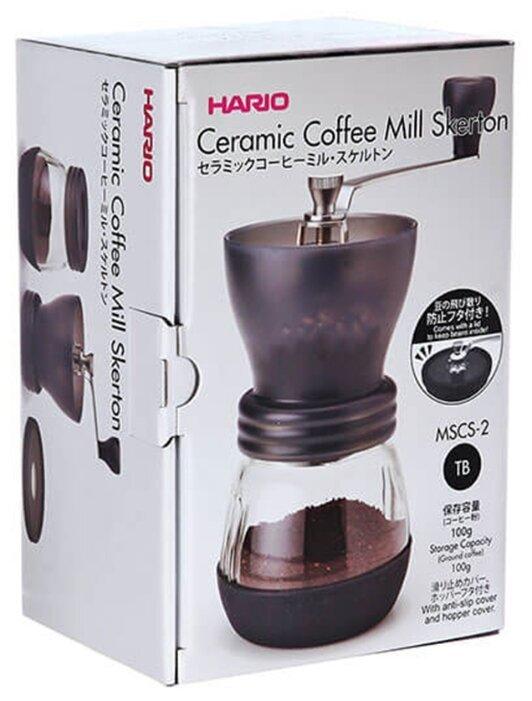 Кофемолка ручная Hario MSCS-2DTB Skerton