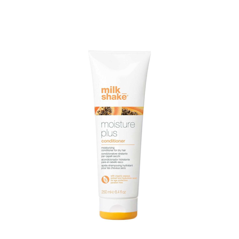 Кондиционер для сухих волос с экстрактом папайи и гиалуроновой кислотой / Professional hair conditioner Milk Shake moisture plus 250 мл