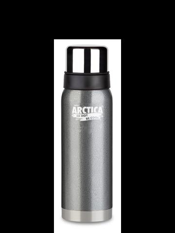 Термос Арктика (0,75 литра) с узким горлом американский дизайн, серый