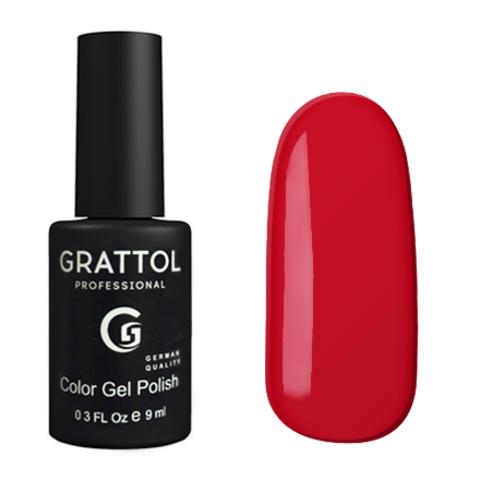 Гель-лак GRATTOL 082 Cherry Red 9мл