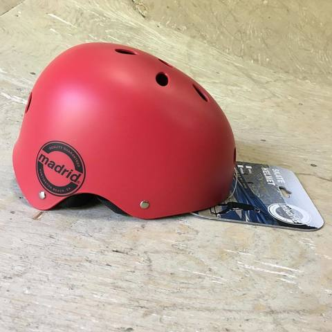Защита Madrid шлем helmet red
