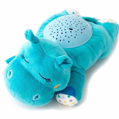Ночник Hippo голубой