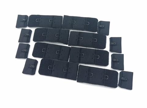 Застежка, 1х2, 1,9см, черные, (Арт: Z1-170), шт