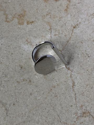 Кольцо Стонтана, серебряный цвет