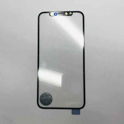Фронтальное стекло, лицевое стекло iPhone XS с OCA пленкой